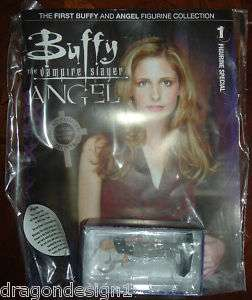 Buffy & Angel Magazine FIGURINE COLLECION #1 BUFFY |