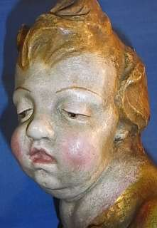 LARGE CHERUB ANGEL HEAD ANTIQUE GERMAN LA2/99