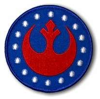 STAR WARS Rebel Alliance Logo Iron On OFFICIAL Patch