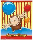Curious George edible cake image topper  1/4 sheet