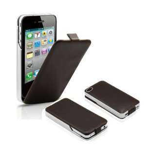 High Quality Iphone 4/4s Leather Battery Backup Charging