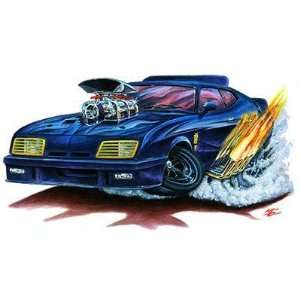 24 *Firebreather* MAD MAX Muscle cartoon Car Wall Graphic