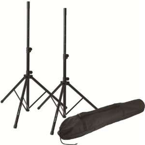 Twin Speaker Stand/Tote Bag Pak Speaker Stand Musical Instruments