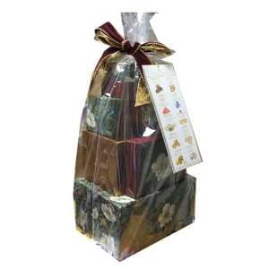 Lyndon Reede Collections 4lb 10.11 ounce holiday Christmas Gift Tower