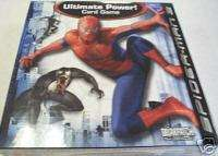 SPIDER MAN 3 MOVIE ULTIMATE POWER CARD GAME BRIARPATCH
