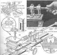 YOUR OWN WORKSHOP, STEAM ENGINE, COMPRESSOR PLANS OLD TIMER WOOD PLANS