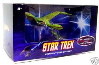 is for the Star Trek KLINGON BIRD OF PREY MATTEL DIE CAST starship