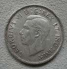 1943 Canada Canadian twenty five cent coin 25 cents