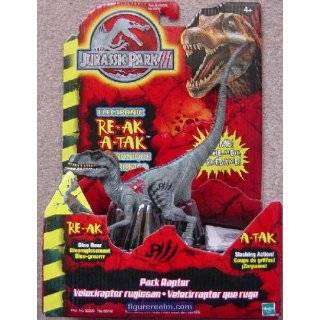 Jurassic Park III Electronic RE AK A TAK Action Figure Toys & Games