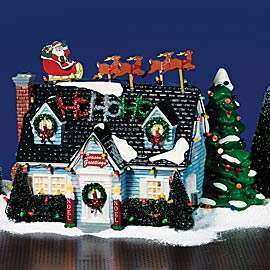 Department 56 The Holiday House Snow Village Christmas Lane