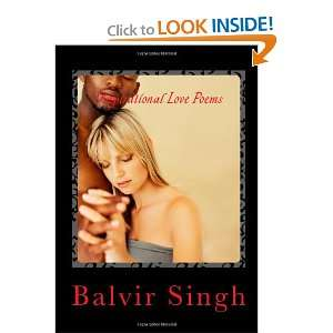 Inspirational Love Poems (9781453840078) Balvir Singh Books