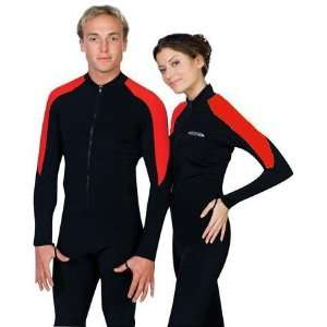 New Tilos Lycra Full Skin Suit for Scuba Diving & Snorkeling (Red