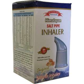 Himalayan Salt Inhaler Pipe Air Respiratory Breathing Aid with Salt