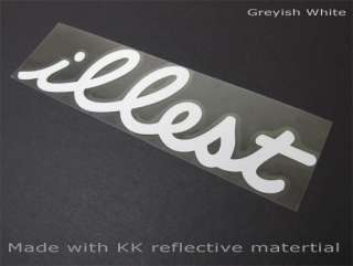 JDM EURO illest Drift Logo Evil King Car Decal Vinyl Stickers Decals