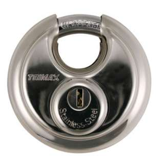 Trimax Keyed Alike Shielded Stainless Steel 70mm Round Disc Storage