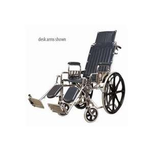 Everest & Jennings Reclining Traveler Wheelchair   16 Wide