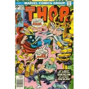 Thor #254 Stan Lee and Jack Kirby origin of Don Blake Books