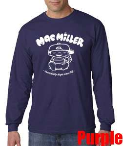 New Mac Miller Knock Knock Hoodie Long Sleeve T Shirt Most Dope Rap
