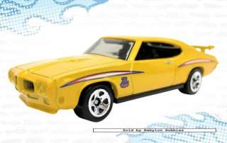 picture of Mattel Hot Wheels   1970 Pontiac GTO Judge (T9681)