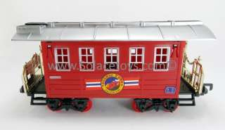 Electric Express Christmas Train Set Toy with Lights and Sounds