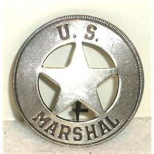 US Marshal Obsolete Old West Police Badge Star Everything