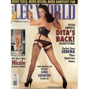 Leg World Magazine April 2003: Larry Flint: Books