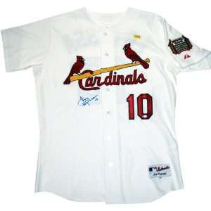 Tony La Russa Autographed Authentic St. Louis Cardinals