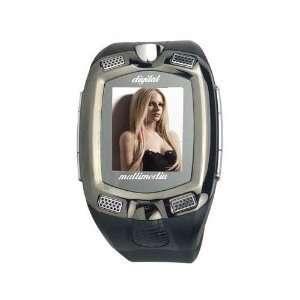 com 1.3 Inch Touch Screen Bluetooth Wristwatch Mobile Phone   Camera