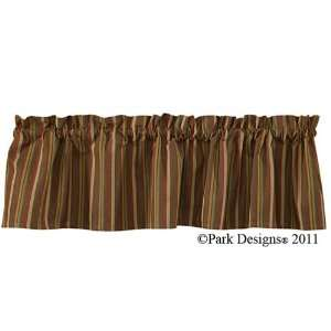 Park Designs River Birch Country Lodge Valance Curtain