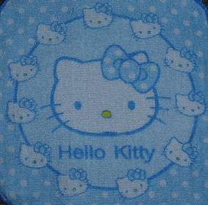 Towels W/Crochet Tops Hello Kitty Kitchen/Bathroom