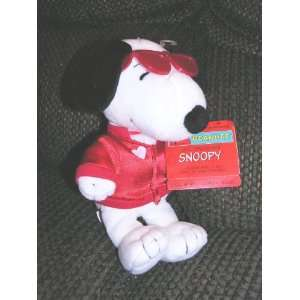 Peanuts 8 Plush Joe Smoocher Snoopy Bean Bag Doll with