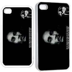 bob marley v1 iPhone Hard Case 4s White Cell Phones