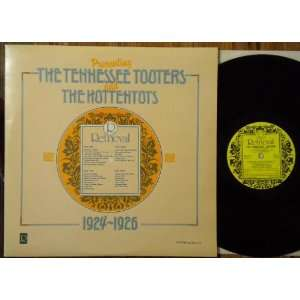 Tooters and the Hottentots 1924 1926: The Tennessee Tooters, The