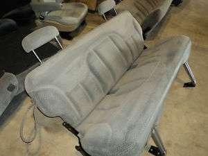 SUBURBAN TAHOE YUKON SILVERADO GMC BENCH REAR BACK SEAT SEATS