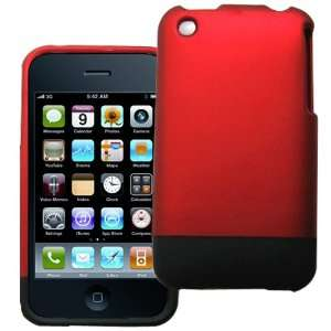 iPhone 3G & 3GS Two Pieces Rubberized Hard Case Back Cover Slider