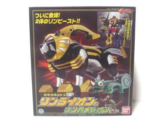 RARE BANDAI NEW Power Rangers Jungle Fury RIN LION CHAMELEON ZORD