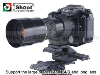 Rail Slider Ball head+Lens Tripod Mount Ring for Canon EF 100/2.8 L IS
