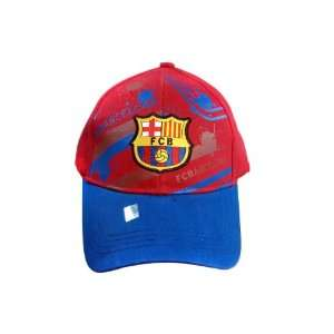 FC BARCELONA OFFICIAL TEAM LOGO CAP / HAT   FCB026 Sports