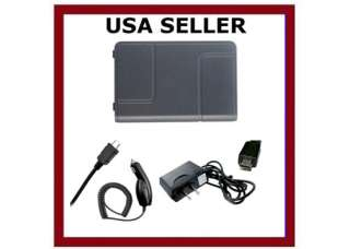OEM BATTERY+CAR+HOME CHARGER LG AHMM ENV3 SLATE BLUE