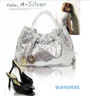 silver gold WEDDING EVENING PARTY Clutch Tote Handbag Hobo BB8