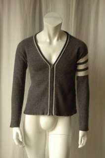 THOM BROWNE*CASHMERE*Zip Cardigan Sweater Jacket S NEW