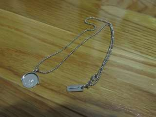 You Spinning Spin Charm Pendant Necklace Charm Silver Plated