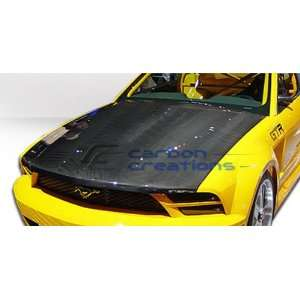 2005 2009 Ford Mustang Carbon Creations OEM Hood Automotive