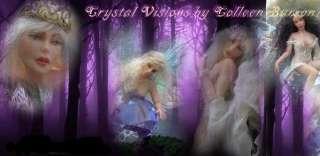 OOAK Fairy Art Doll Brucie Fantasy Woodland Artdoll Sculpture