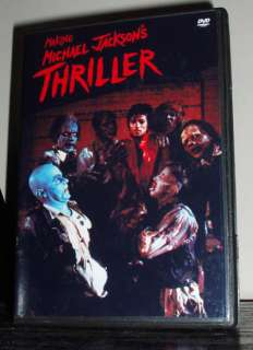 MICHAEL JACKSON THE MAKING OF THRILLER RARE MATERIAL DVD