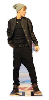 JUSTIN BIEBER LIFESIZE CARDBOARD CUTOUT STANDEE Standup Party Prop