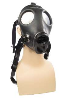 RUBBER INDUSTRIAL Black GASMASK Gas Mask Costume