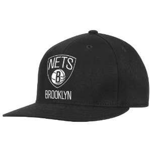 NBA Brooklyn Nets Mens Official Logo Flex Fit Cap Sports