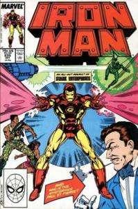 Iron Man #235 Vol 1 Marvel Comics 1988 NM Invincible