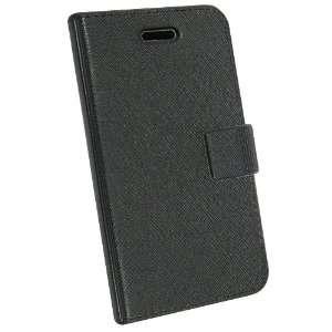 Malcom Distributors Korean Design Black Flip Phone Case